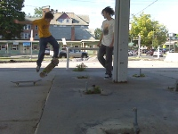 Chris Kickflip Self Serve