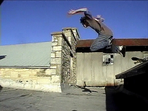 Chris rooftop bail