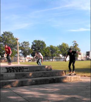 Triple Ollie Runup
